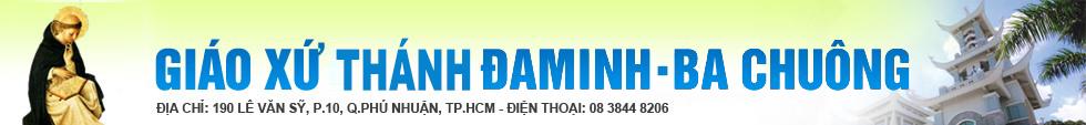 GIÁO XỨ THÁNH  ĐA MINH (BA CHUÔNG)