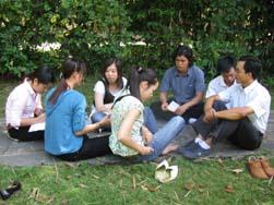 Ca đoàn Trẻ Tĩnh Tâm Bước Vào Tuần Thánh