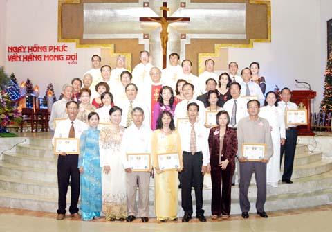 Ca Đoàn Thánh Gia mừng bổn mạng