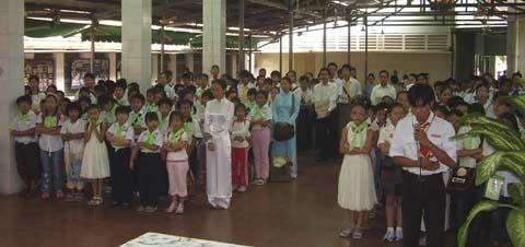 Thiếu Nhi Thánh Thể giáo xứ Đaminh
