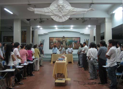 Buổi Họp Ban Mục Vụ Giáo Xứ Mở Rộng