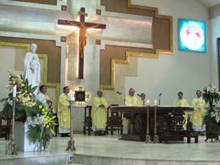 Giáo họ thánh Giuse mừng bổn mạng