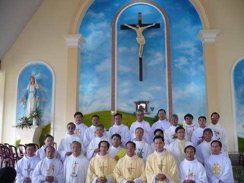 Lễ tạ ơn của các Tân linh Mục