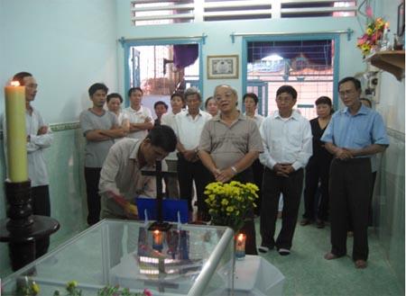 Phân Ưu với gia đình ông Trần Ngọc Sơn