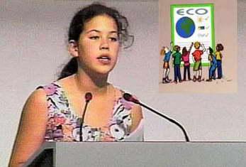 Cô bé 12 tuổi khiến thế giới phải im lặng 6 phút