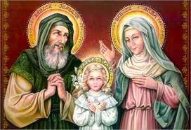 Thánh tích song thân Đức Mẹ