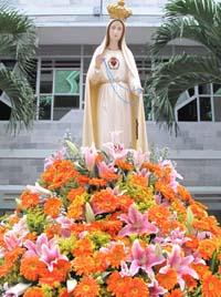 Nghe giảng Lễ Đức Mẹ Mân Côi (2012)