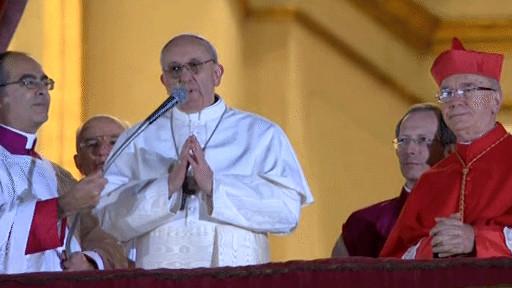 Đức hồng y Bergoglio : tân Giáo hoàng Phanxicô
