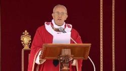 ĐTC Phanxicô cử hành Lễ Lá đầu tiên