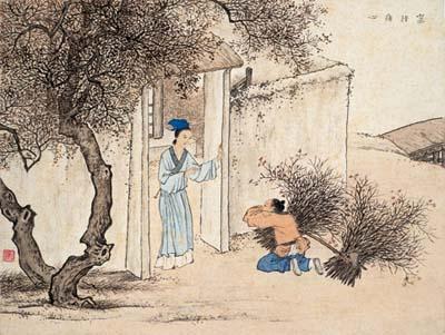 03- Tăng Tử : mẹ cắn tay, tim con xót