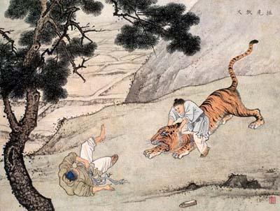 19- Dương Hương : giết hổ cứu cha