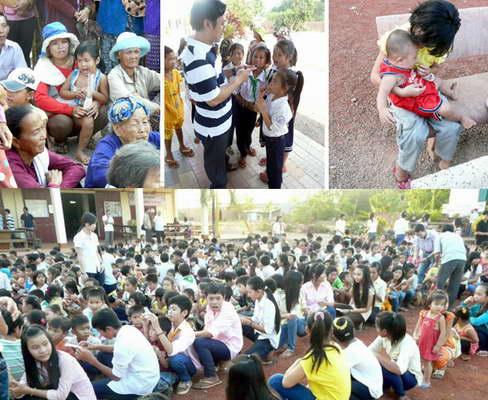 Mùa Xuân Tình Thương 2013: Học viện Đaminh