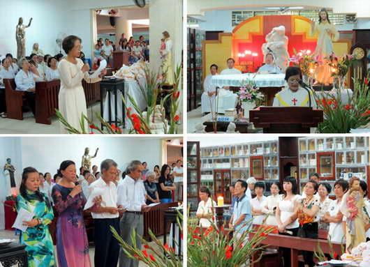 Mừng Ban đại diện Nhóm Lòng Chúa Thương Xót