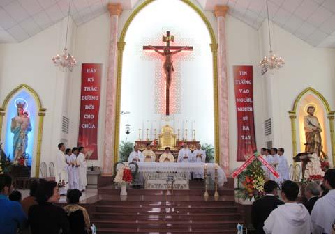 Lễ mở tay Linh mục Nguyễn Tuấn Thời OP