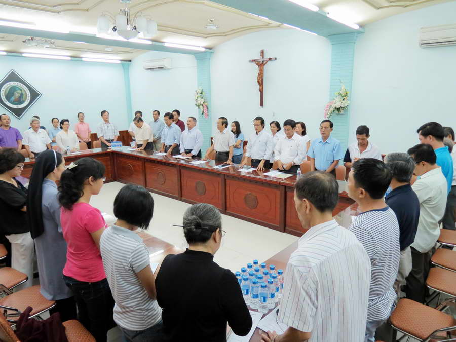 HĐMV mở rộng chuẩn bị bổn mạng giáo xứ