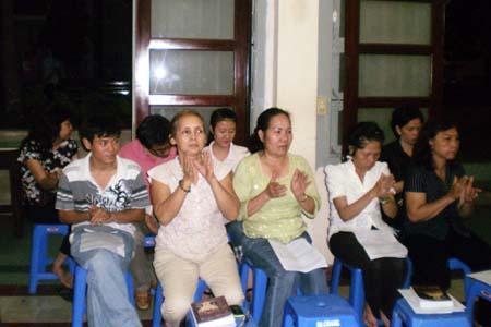 Buổi họp Curia đầu tiên tại giáo xứ Đaminh