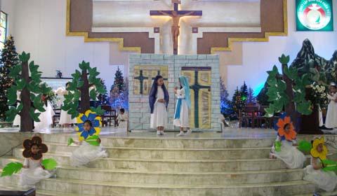 Diễn nguyện : Mẹ Maria đến thăm bà Elizabet