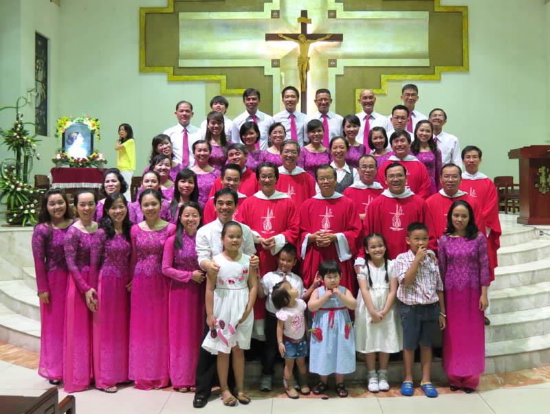 Ca đoàn Cecilia: 45 năm hồng ân
