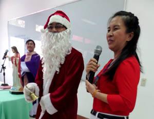Huynh đoàn Kitô Vua mừng lễ Giáng Sinh sớm
