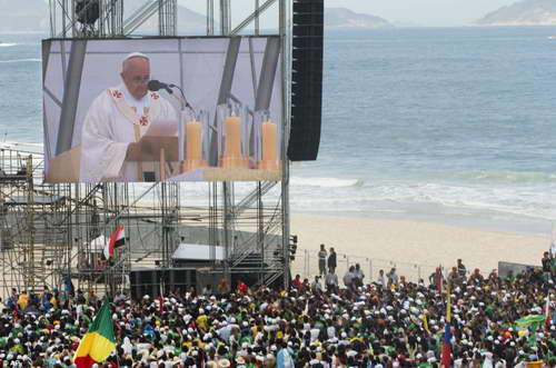 Thánh lễ bế mạc Ngày Quốc Tế giới trẻ lần thứ 28