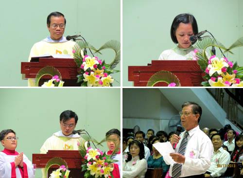 Thánh lễ cầu bình an cho quý thầy cô giáo