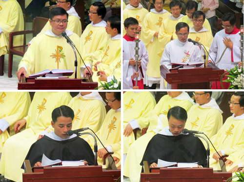 Thánh lễ tạ ơn tân linh mục và vĩnh khấn