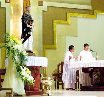Tĩnh Tâm : thánh Đaminh và việc loan báo Tin mừng