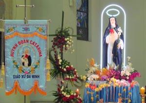 Thánh Catarina, tấm gương yêu mến Giáo hội