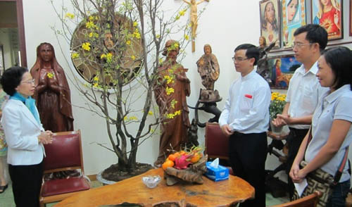 Hình ảnh Đoàn Thiếu Nhi chúc tết Giáp Ngọ