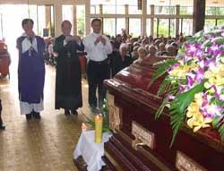 Lễ Tang Cha Cố Đaminh Nguyễn Văn Hộ OP