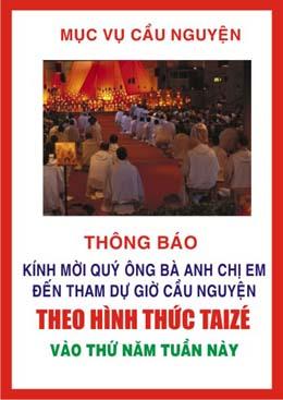 Buổi cầu nguyện Taizé