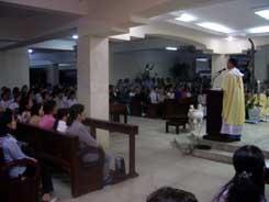 Thánh lễ tại từ đường mùng hai tết