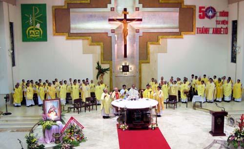 Mừng 50 năm tu viện : Thánh Lễ Tạ Ơn