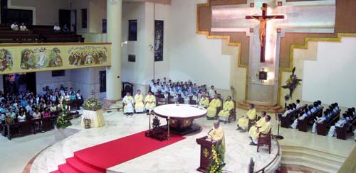 Thánh lễ khai mạc năm thánh 2010