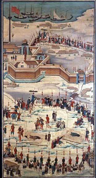 11. Bức họa tử đạo ông Quỳnh và thầy Tự