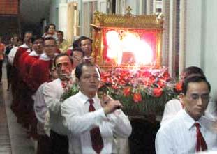 Mừng lễ các thánh tử đạo Hải Dương