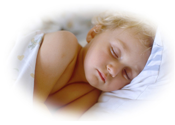 insomnia cures sleeping child picture