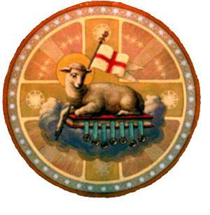 Biểu tượng Thánh Tâm, Bồ Câu và Con Chiên