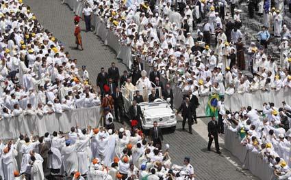 Thánh Lễ kết thúc Năm Linh Mục tại Roma
