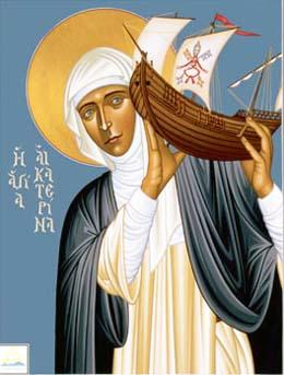 Ngày 29/4: THÁNH CA-TA-RI-NA XI-Ê-NA, trinh nữ, tiến sĩ Hội Thánh