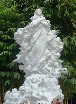 Nghi thức cung hiến tượng đài Mẹ Lên Trời