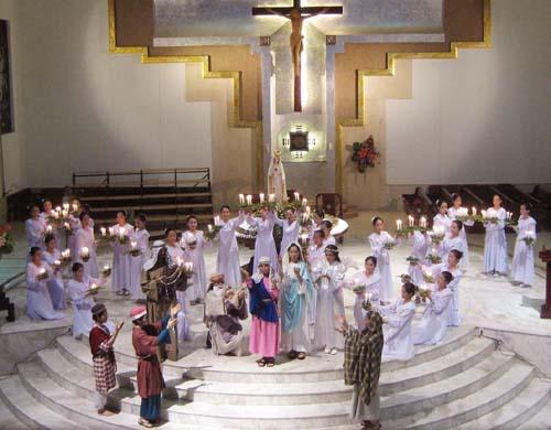 Dâng Hoa : Dòng Mân Côi 2009