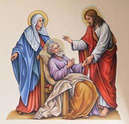 Thánh Giuse 30 : Qua Đời