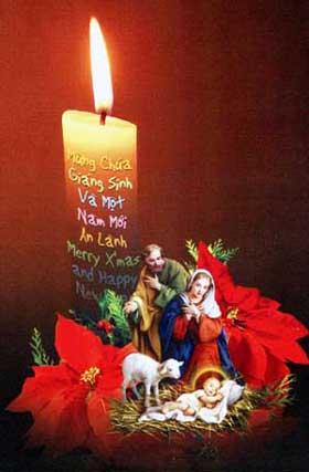 Nghe giảng Lễ Giáng Sinh năm 2010