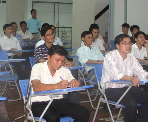 Kết quả tuyển sinh lớp Triết học năm 2013