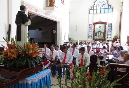 Kết thúc Tuần cửu nhật kính thánh Martinô